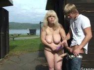 Ride my cock old blonde slut