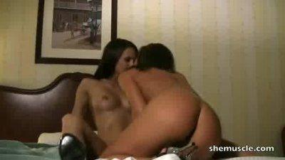Misty Anderson and Nikki Jackson Bedroom Romp