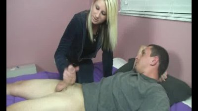 Girlfriend Hot Handjob