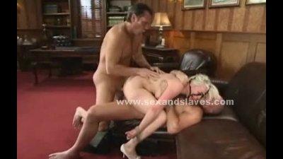 Blonde angelic sex slave