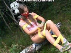 Wild sex to award a hero panda
