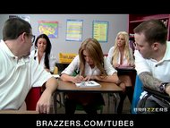 BIG TIT BLONDE SCHOOL GIRL LESBIANS IN UNIFORM GET ANAL ASS FUCKED