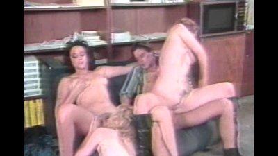 Lucky guy fucks 3 hot ladies