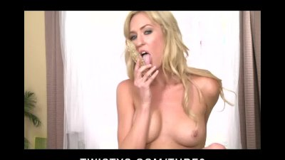 SEXY YOUNG TIGHT SKINNY COLLEGE TEEN FINGERS  DILDO HER PINK PUSSY