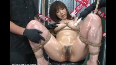 Intense Japanese Device Suspension Bondage Sex
