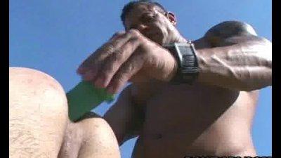 Horny latino fucking anal barebacking