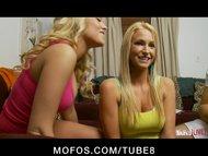 MOFOS LIVE SHOWS  PORNSTARS Emily Addison and Ainsley Addison