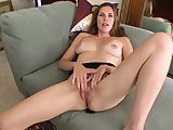 mature mom stuffs her tight pussy3gp Porn Videos