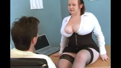 Big Tits Boss Nikki Punishes P