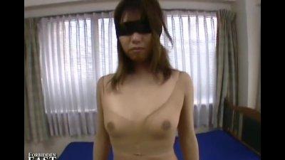 Uncensored Japanese Erotic Pantyhose Fetish Masturbation