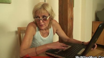 I've just fucked my wife's old mom
