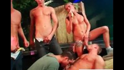 Group of horny drunk guys part5