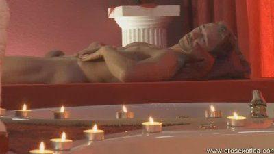 Self penis massage and relaxation