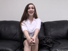 Preview 1 of Georgous Teen On Casting Couch