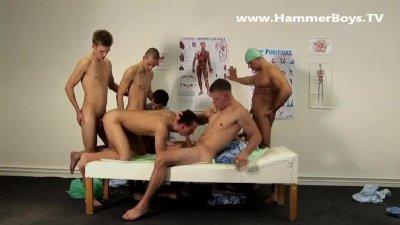 Sex clinic Gang Bang Therapy hammerboys.tv