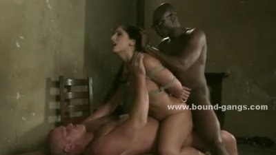 Slave caught after runaway and punished