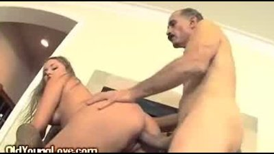 A Young College Girl Banged By A Naughty Mature Guy