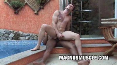 Interracial Muscle Men