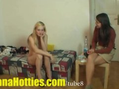 Preview 8 of Fresh Tereza  Double Bj And Threesome At The 1st Casting