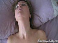 Amateur wife has intense orgasm