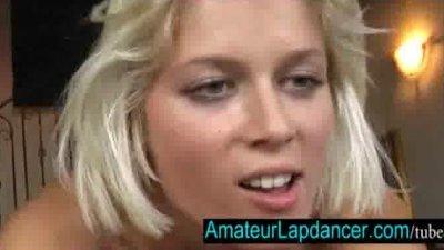 20 y.o. amateur Sandra  lapdance and blow job