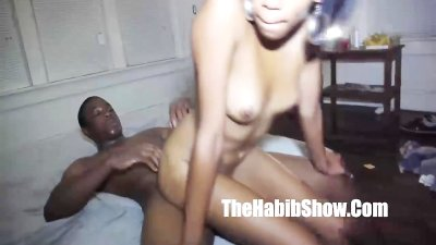 she got gorilla fucked in her homegirls room