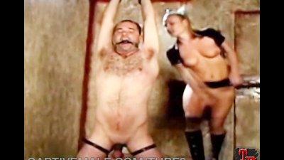 Hairy Sub Man Gets Femdommed