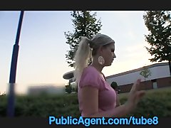 Preview 1 of Publicagent Natally Shows Me More Than Just Her Big Boobs Outdoor