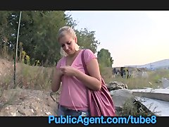Preview 7 of Publicagent Natally Shows Me More Than Just Her Big Boobs Outdoor