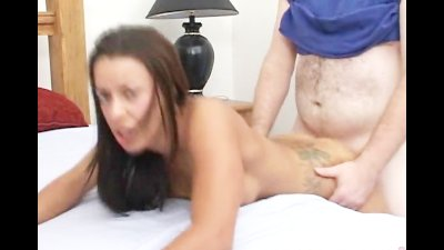 Tattoo bitch gets fucked in th