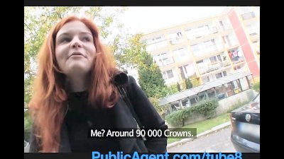 PublicAgent Married redhead Do