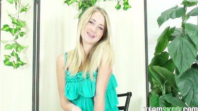 ThisGirlSucks Smalltits blonde teen Casi James Hawaiian blowjob handjob