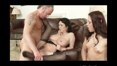 MILF Rayveness and Teen Daught