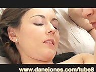 DaneJones Creampie in teen, juicy pussy massage orgasm, hot couple sex