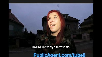 PublicAgent Bara Her pussy gets wet talking about sex