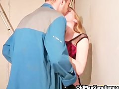 Preview 8 of Crazy Threesome At Work