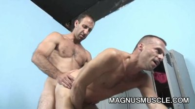 Hot DILFs Mitch Brawn and Steven Richards sucks and fucks each other