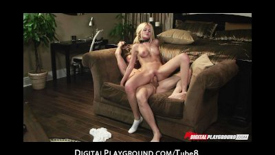 Submissive blonde pornstar cra