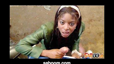 Jasmine Webb is a sexy Chocola
