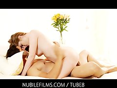 Passionate sex with a beautiful stranger