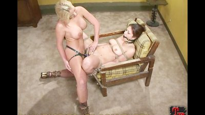 Dominated by her Nice Big Strapon