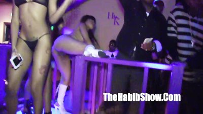 HARLEM KNIGHTS STRIP CLUB WITH LIL SCRAPPY MAKING IT RAIN 15K