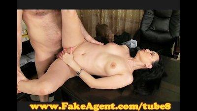 FakeAgent Mature brunette take