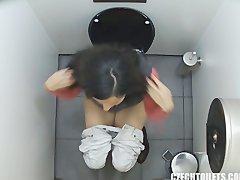 First Hidden Cam in Toilets Worldwide