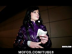 Preview 4 of Shy Czech Girl Is Convinced The Flash  Fuck In Public For Cash