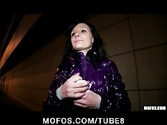 Preview 5 of Shy Czech Girl Is Convinced The Flash  Fuck In Public For Cash