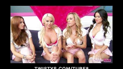 Twistys LIVE Celebration  Next Show 041013 4pm EST 1 pm PST