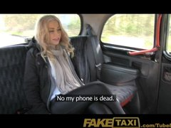 Preview 3 of Faketaxi Canadian Tourist Gets Royally Fucked