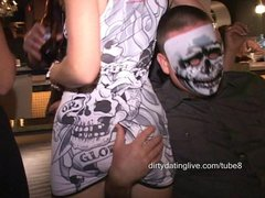 MILF fingers hotwife Squirts on BBW Gets fisted