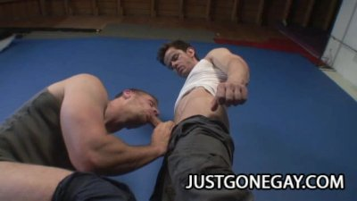 Workout Buddies Park Wiley ANd Daniel Diaz Anal Sexercise